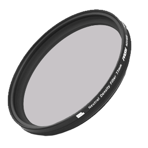 ND lens filters, different sizes and shot at will.