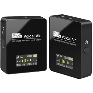 Professional wireless recording microphone, powerful function, effective radio noise reduction