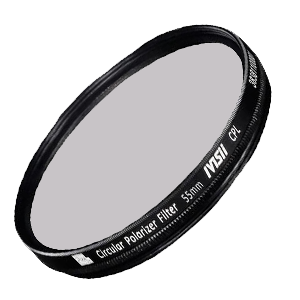 CPL lens filters, different sizes and shot at will.