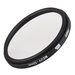 MEUV lens filters, different sizes and shot at will.