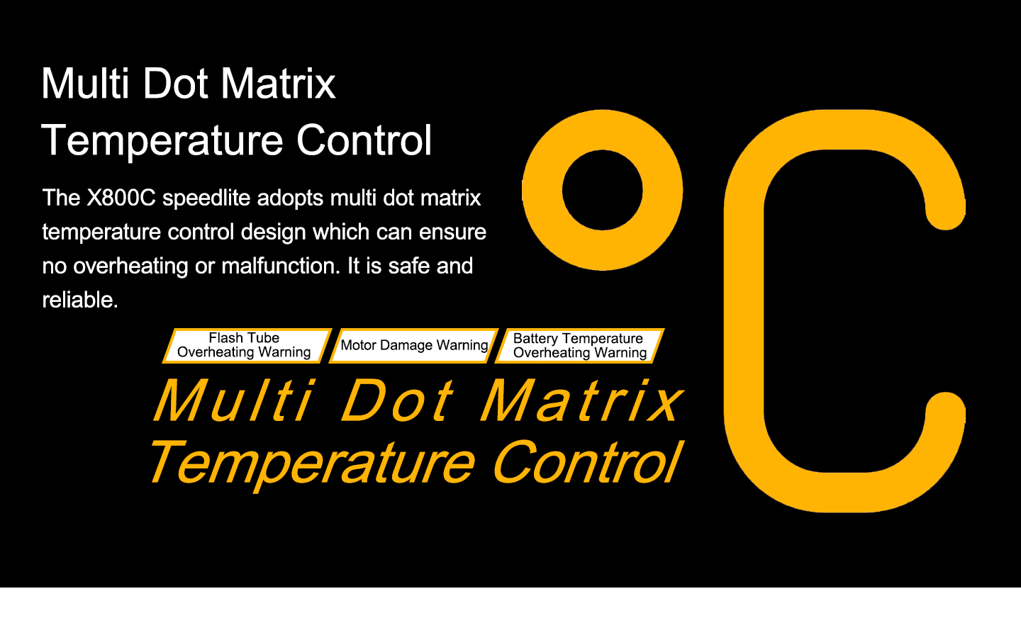 Multi Dot Matrix Temperature Control
