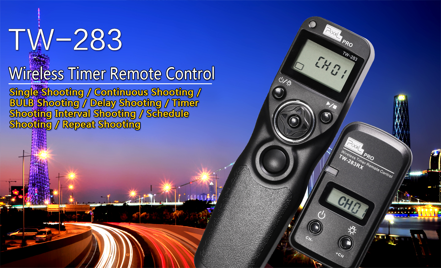 TW-283 Wireless Timer Remote Control