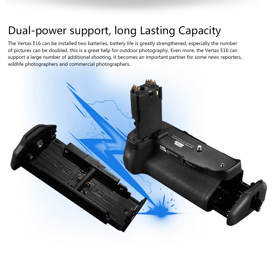 Dual-power support, long Lasting Capacity