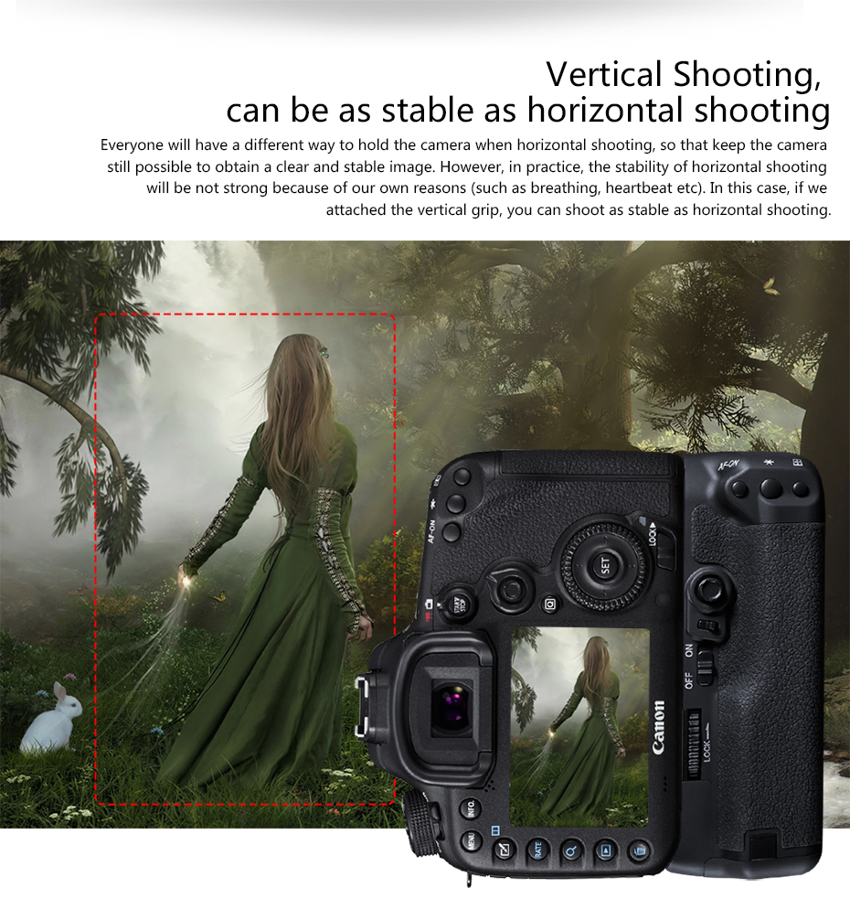 Vertical Shooting, can be as stable as horizontal shooting