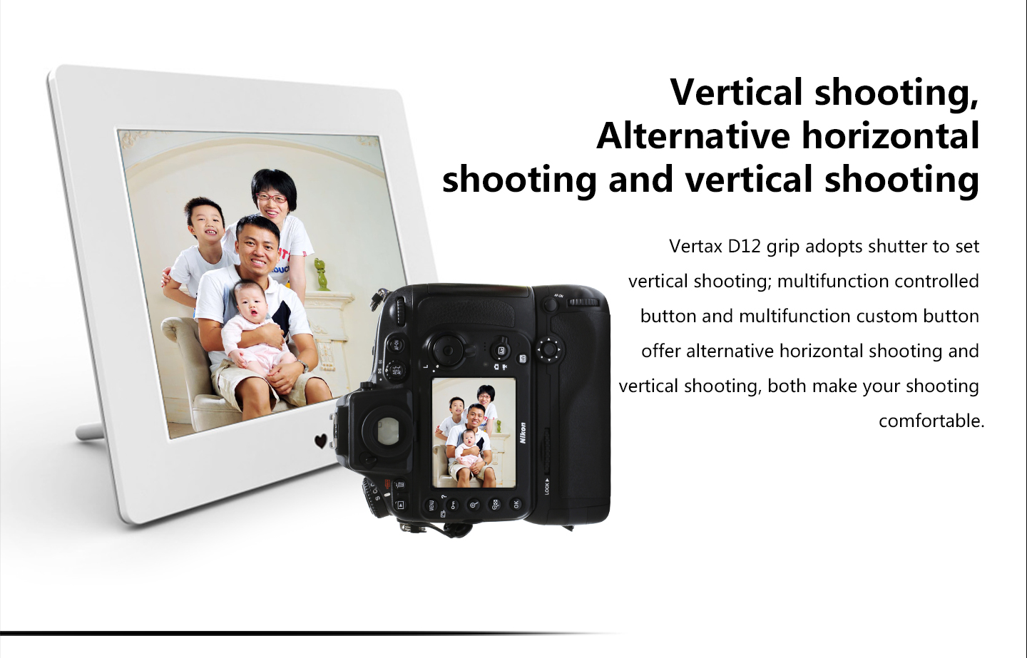 Vertical shooting, Alternative horizontal shooting and vertical shooting