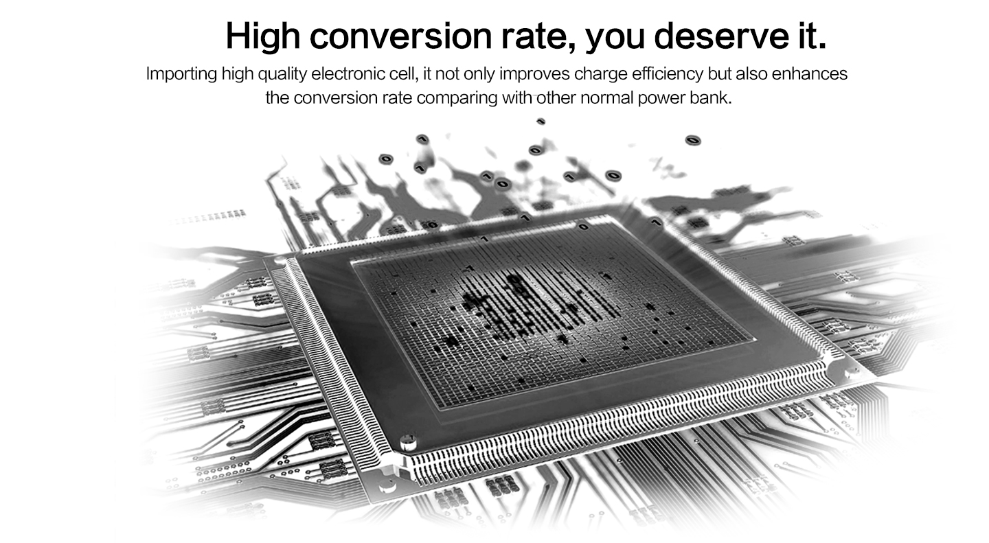 High conversion rate, you deserve it.