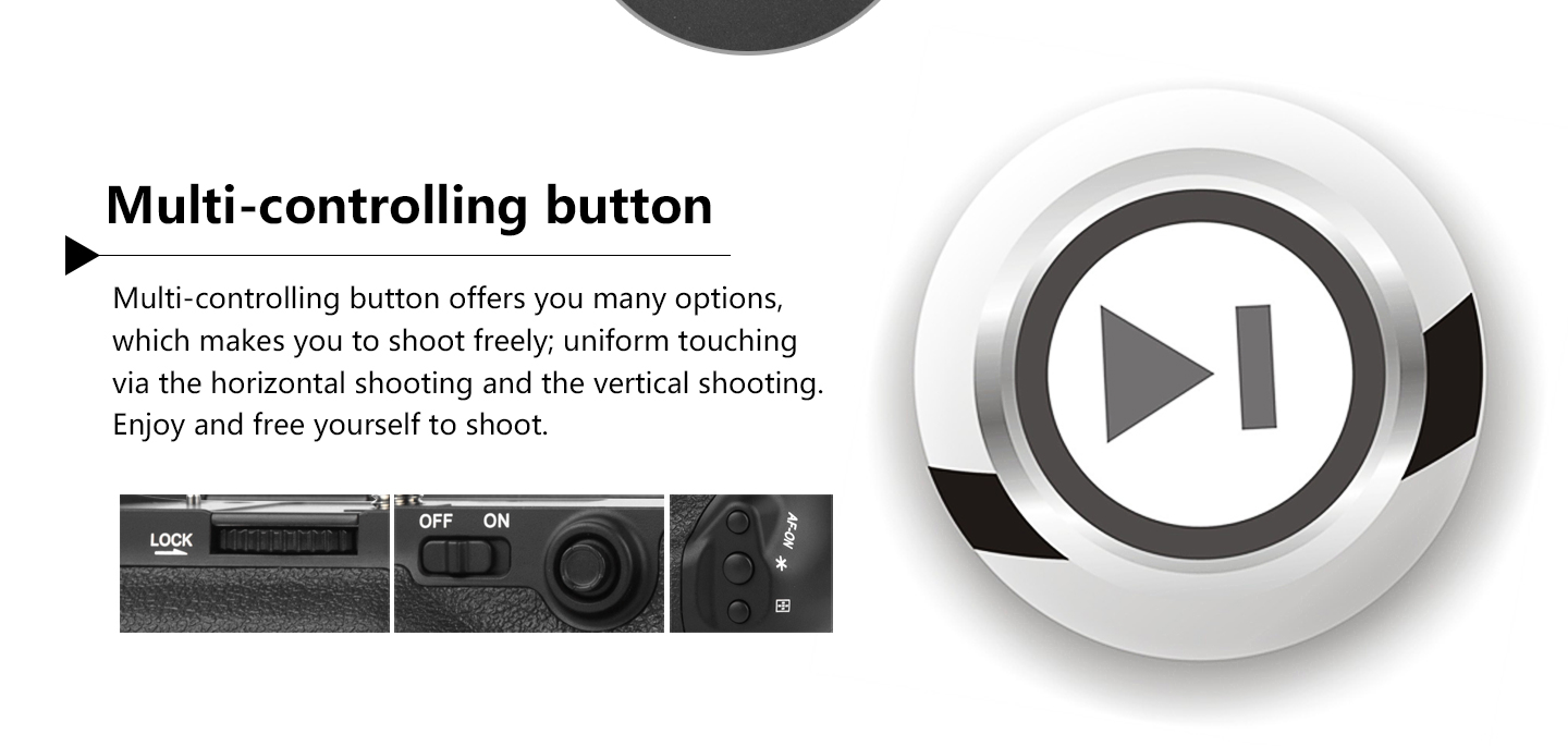 Multi-controlling button