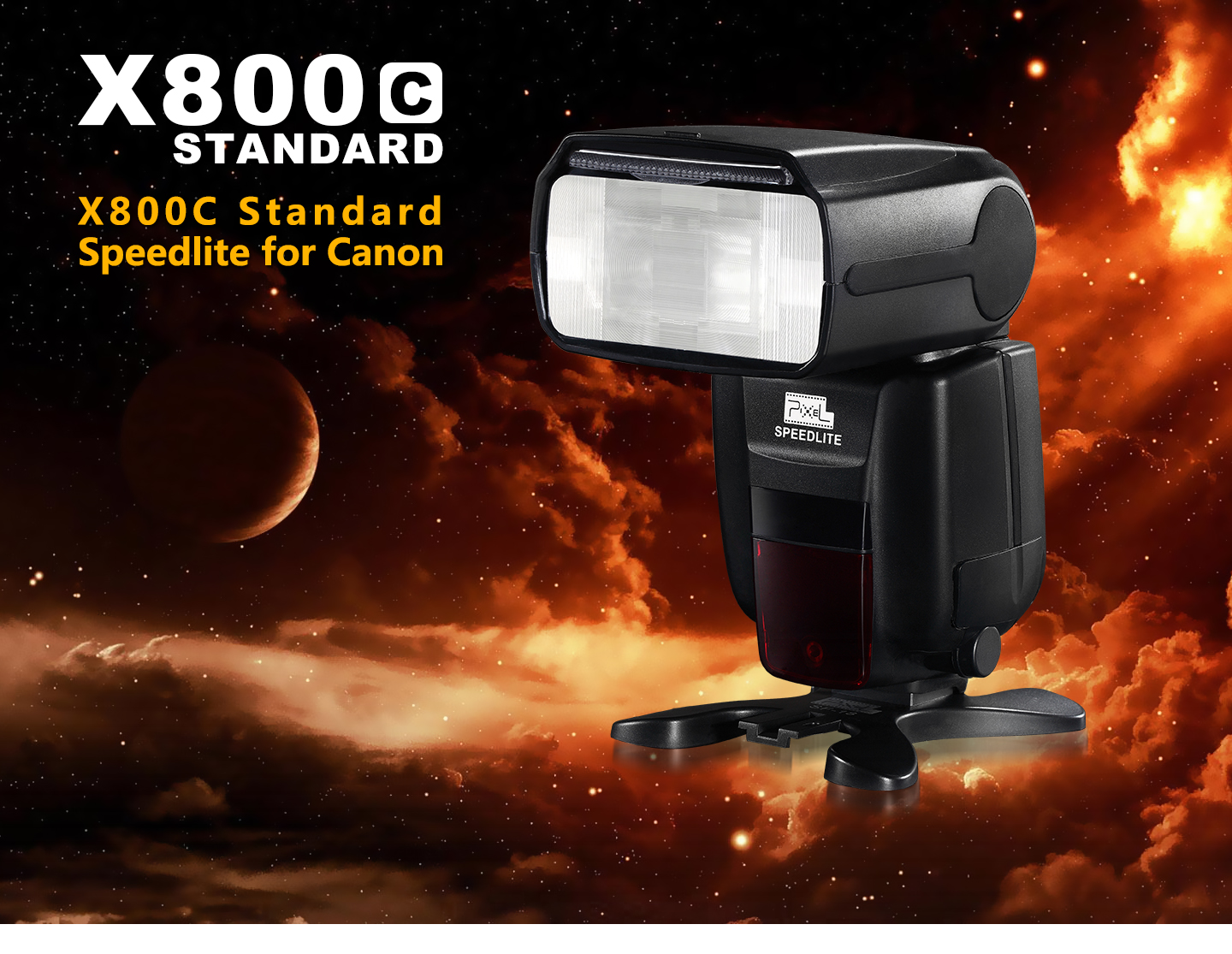 X800C Standard Speedlite for Canon
