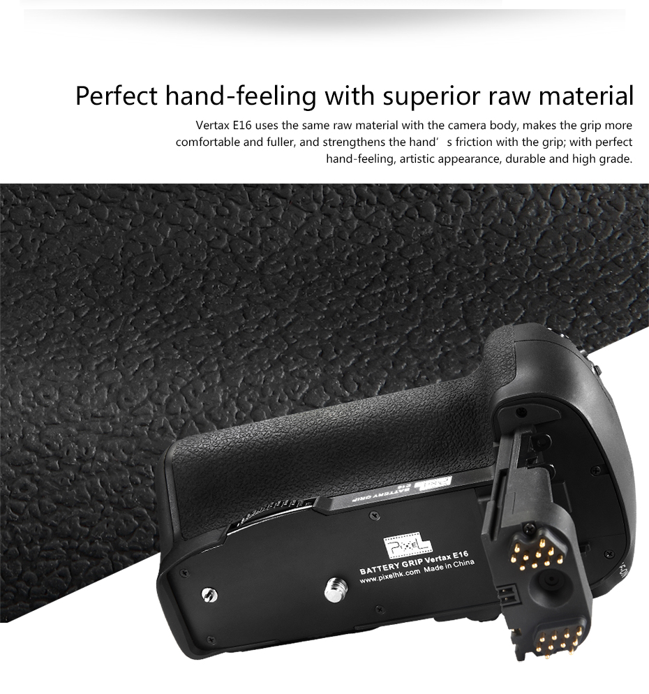 Perfect hand-feeling with superior raw material