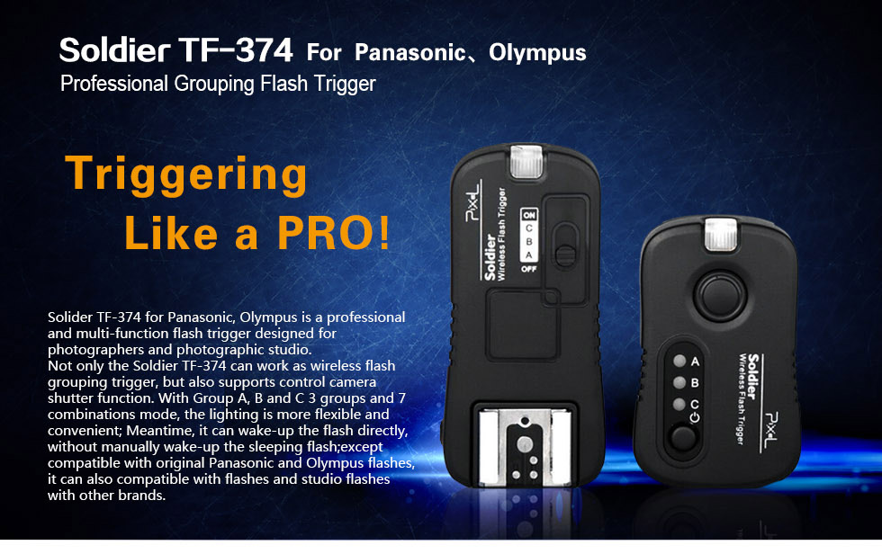 Soldier TF-374 Professional Grouping Flash Trigger