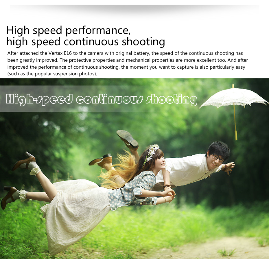 High speed performance, high speed continuous shooting