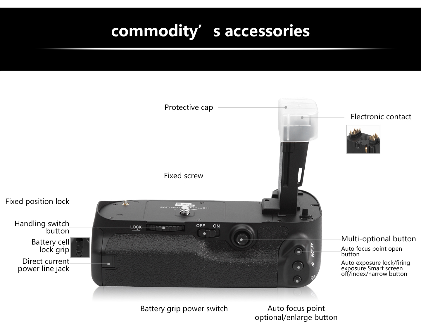 Commodity's accessories